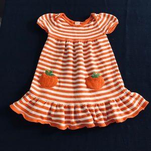 GYMBOREE | sweater dress | 5T | Pumpkin Pockets!